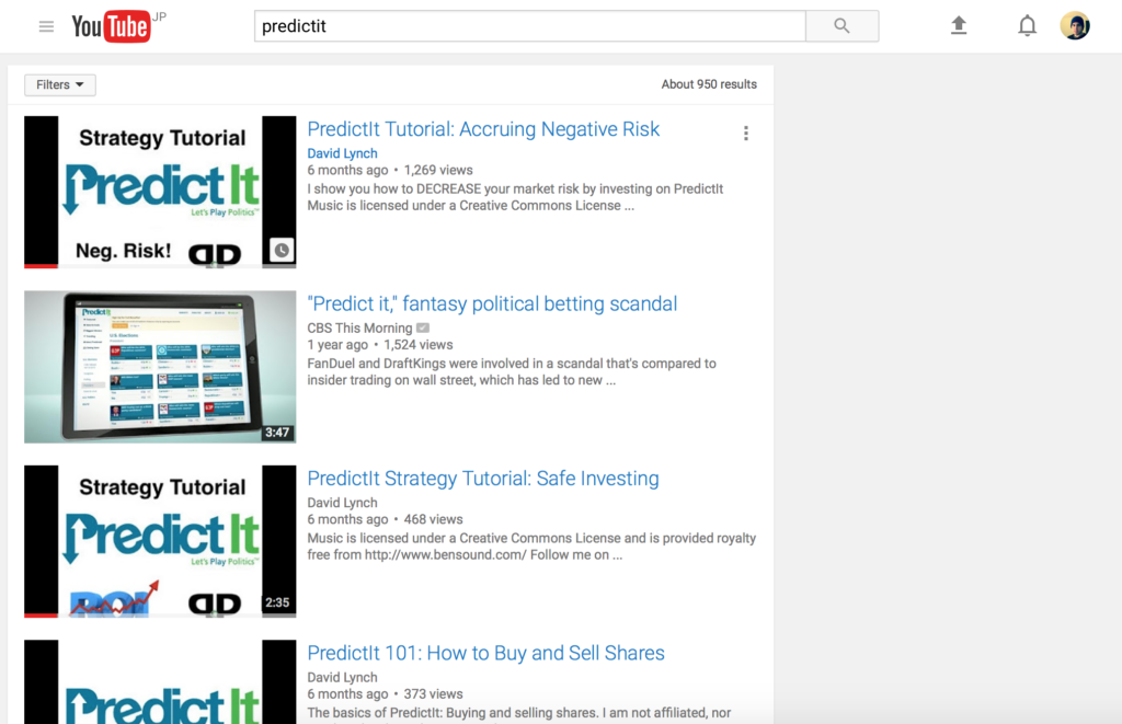 PredictIt Strategy Videos