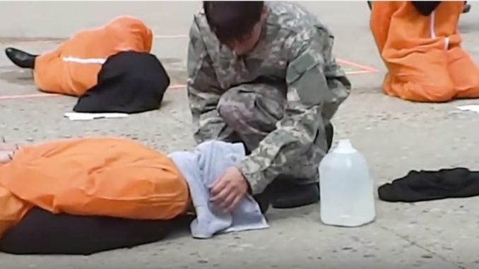 is waterboarding torture