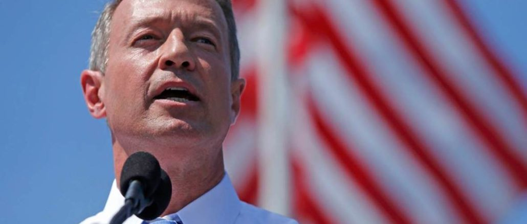 what is martin o'malley doing now
